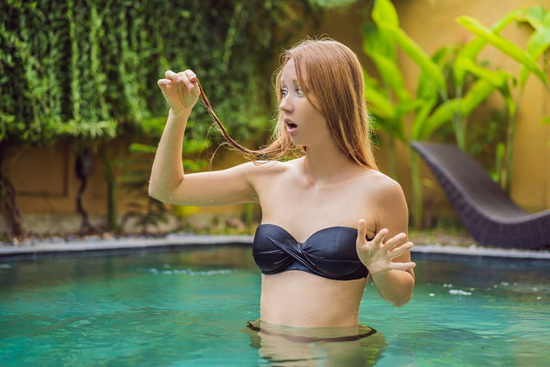 effects of chlorine on the hair