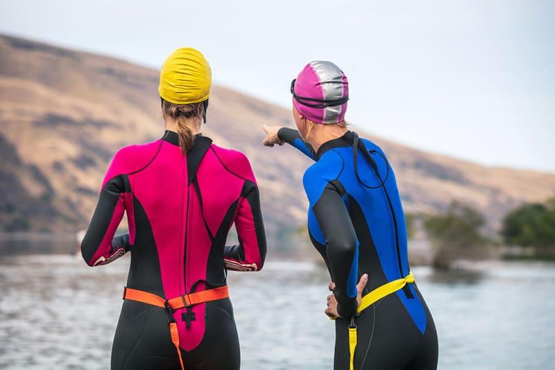 prepare for open water swimming